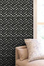 Flash Black Large wallpaper  wallpapers Nashville artist Angela Simeone art interiors interior design designer