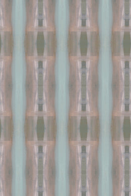 Ikat Column Wash Wallpaper Nashville artist Angela Simeone art interiors interior design designer