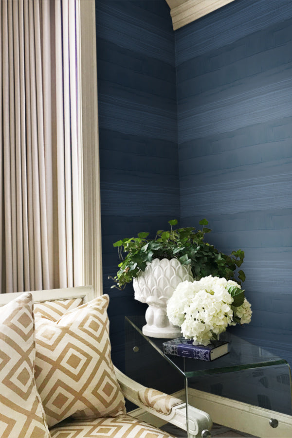 Strie Stripe Wallpaper by artist Angela Simeone