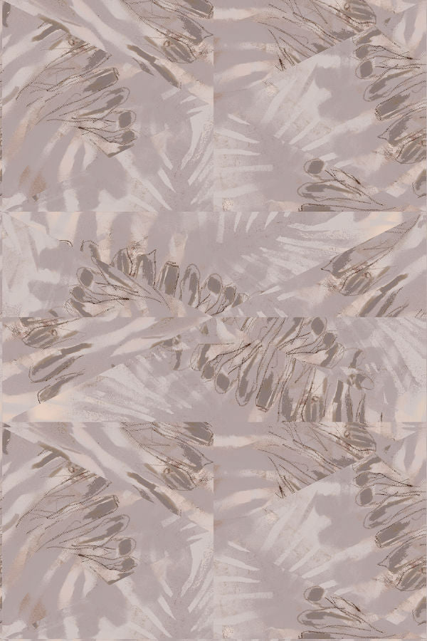 Palm Enigma wallpaper by Nashville artist Angela Simeone artful wallpaper for interior designers and homes of design