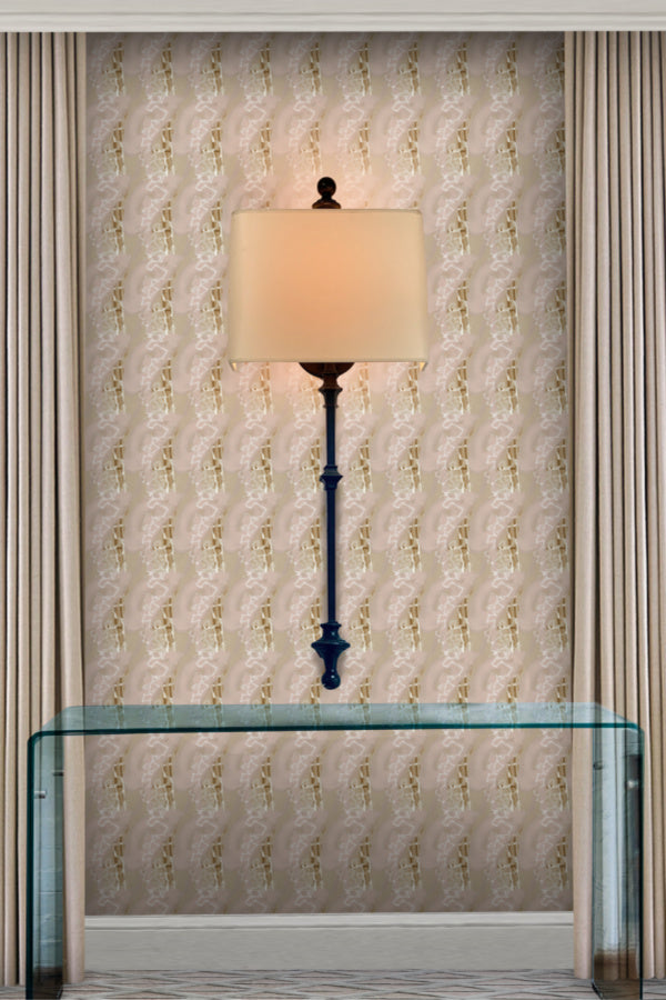 Chinoiserie wallpaper by artist angela simeone