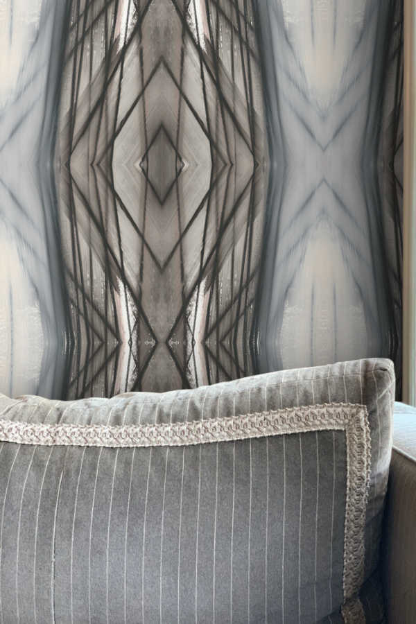 Wallpaper Nashville artist Angela Simeone art interiors interior design