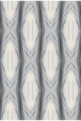 Ikat Strie Wallpaper Nashville artist Angela Simeone art interiors interior design