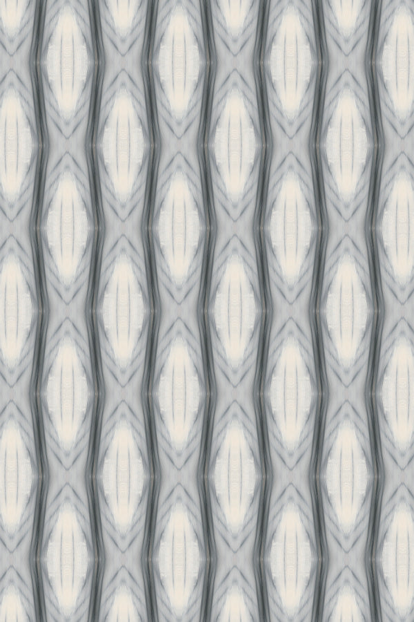 Ikat Ad Astra Small Wallpaper by Nashville artist Angela Simeone art ikat interiors interior design designer