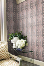 Iconic Stripe wallpaper Nashville artist Angela Simeone art interiors interior design designer