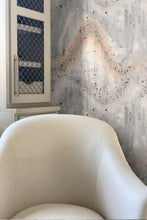 Patina pattern wallpaper by Nashville artist Angela Simeone artful wallpaper for interior designers and homes of design