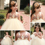 Ivory Tulle Lace Flower Girl Dresses With Satin Flowers, Lovely Cute Tutu Dresses, FGY0144