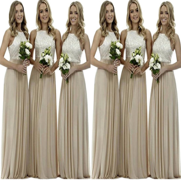 Stunning  A-line High Neck Wedding Guest Dresses,Bridesmaid Dresses,WGY0174