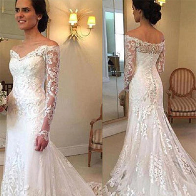 Classic Style Cap Sleeve Lace Top Ball Gown Lace Up Wedding Dresses, WDY0128