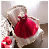 2019 Super Cute Fuchsia  Tulle Flower Girl Dress For Toddler Girls Weddings,Litter Girl Dresses FGY0150