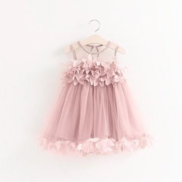 2019  Pink Tutu Flower Dress For Birthdays, Princess Party, Flower Girl, Photo Shoots,FGY0151