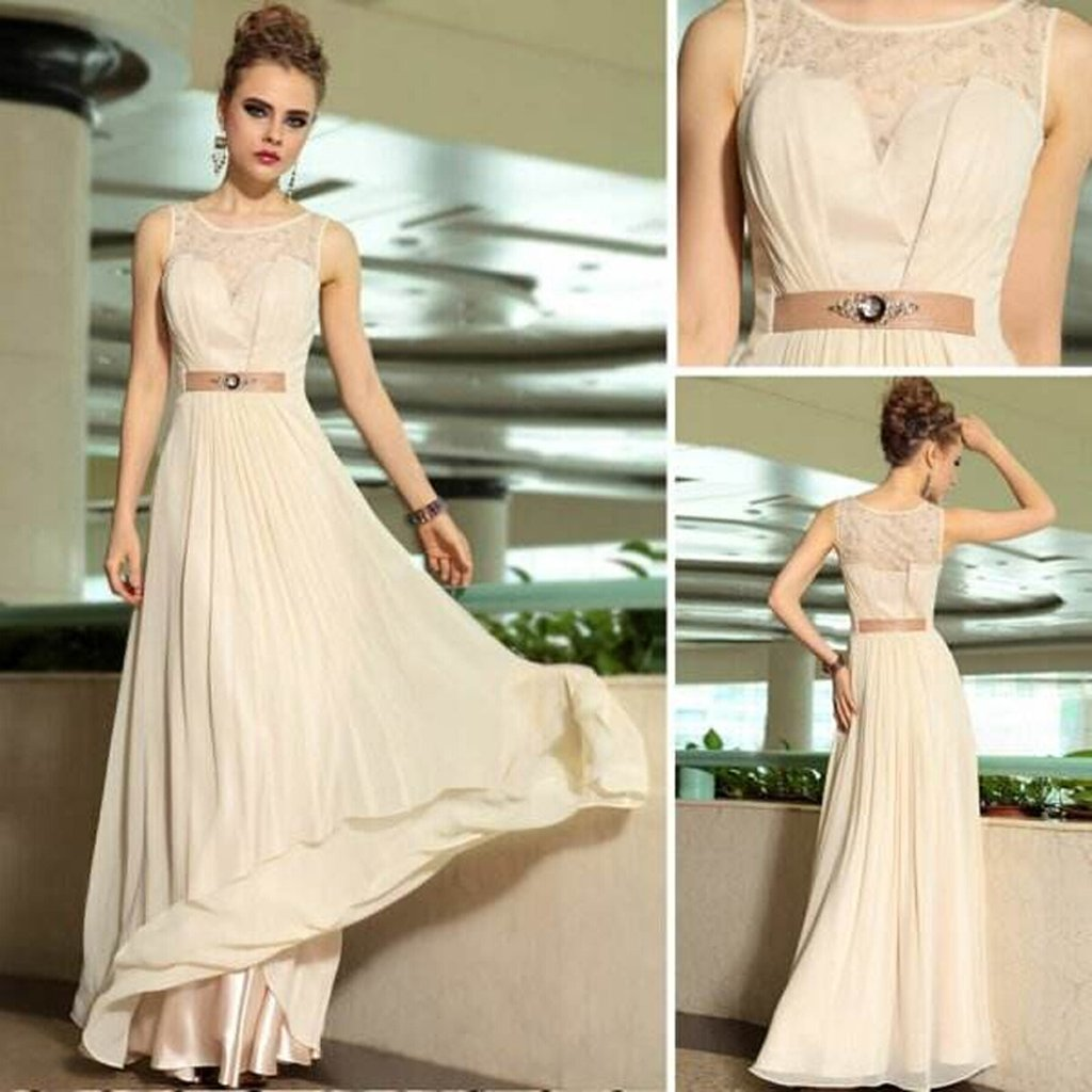 Illusion Long Prom Dress, Chiffon Prom Dress, Charming Prom Dress, Affordable Prom Dress,,PDY0282