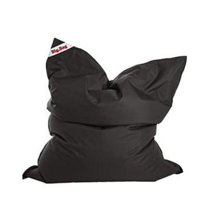 Black Sitting Point Big Bag Brava Bean Bag - nuatua-bean-bags