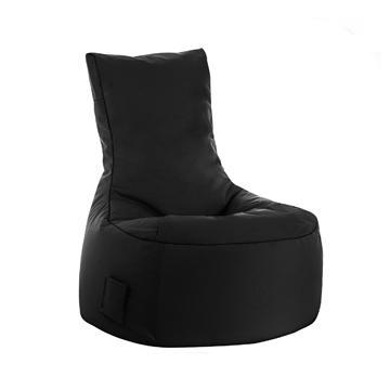 Black Sitting Point Swing Brava Bean Bag Chair - nuatua-bean-bags