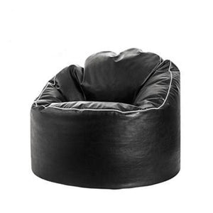 Black Sitting Point Tube Cosy Bean Bag Chair - nuatua-bean-bags