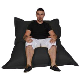 Black Urban Gorilla Bean Bag