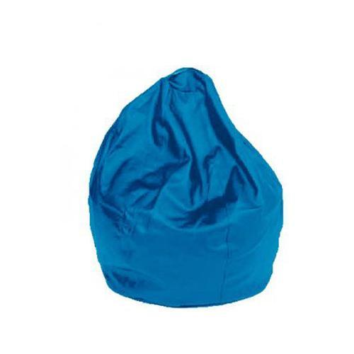 Blue Leatherette Queen Bean Bag - nuatua-bean-bags