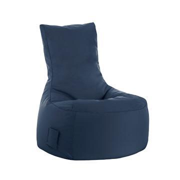 Blue Navy Sitting Point Swing Brava Bean Bag Chair - nuatua-bean-bags