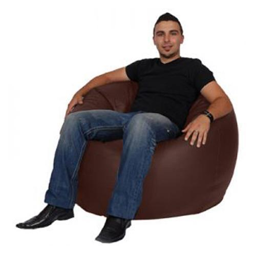 Brown King Bean Bag - nuatua-bean-bags