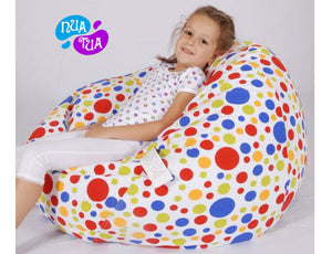 Cosy Medium Canvas Funky Polka - nuatua-bean-bags