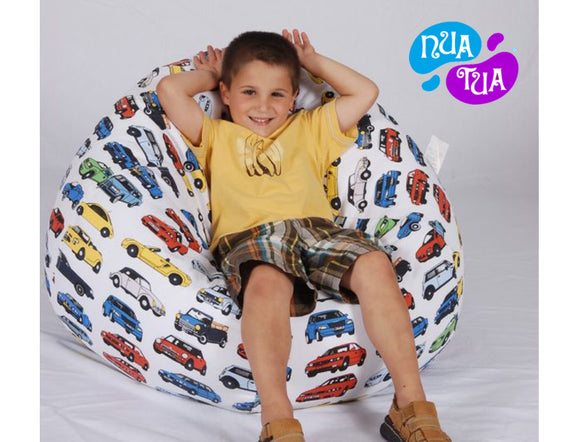 Cosy Medium Canvas Cars - nuatua-bean-bags