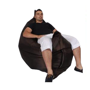 Dark Brown Urban Gorilla Bean Bag - nuatua-bean-bags