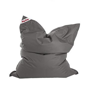 Grey Sitting Point Big Bag Brava Bean Bag - nuatua-bean-bags