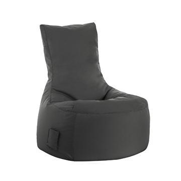 Grey Sitting Point Swing Brava Bean Bag Chair - nuatua-bean-bags
