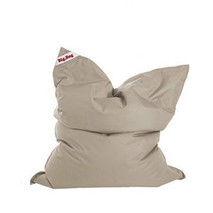 Brown Khaki Sitting Point Big Bag Brava Bean Bag - nuatua-bean-bags
