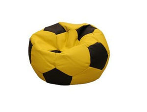 Leatherette Soccer Ball Yellow