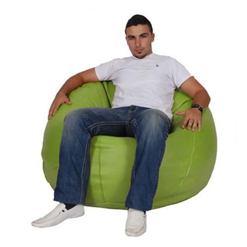 Lime Green King Bean Bag - nuatua-bean-bags