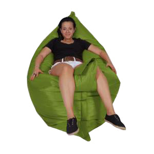 Lime Green Urban Gorilla Bean Bag - nuatua-bean-bags