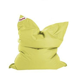 Lime Green Royal Sitting Point Big Bag Brava Bean Bag - nuatua-bean-bags