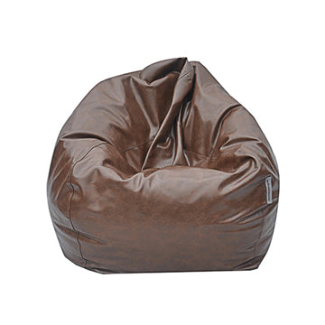 Brown Big Pear Bean Bag Chair - nuatua-bean-bags