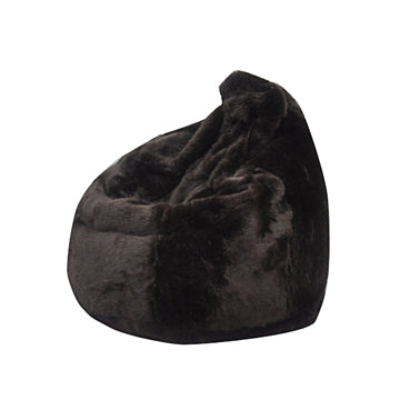 Brown Posh Bean Bag Chair - nuatua-bean-bags