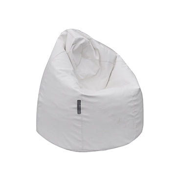 White Pear Bean Bag Chair - nuatua-bean-bags
