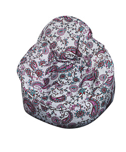 Mini Me Pod Bean Bag Chair Cotton Print - nuatua-bean-bags