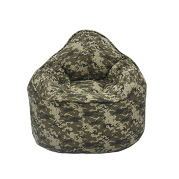 Green Camo Pod Bean Bag Chair - nuatua-bean-bags