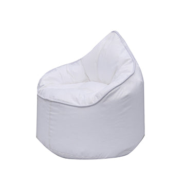 White Pod Bean Bag Chair