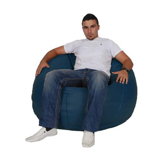 Blue Navy King Bean Bag - nuatua-bean-bags