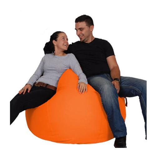 Orange King Bean Bag - nuatua-bean-bags