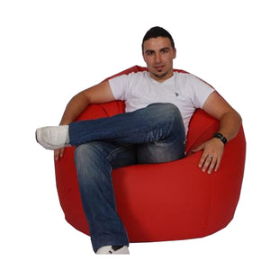 Red King Bean Bag - nuatua-bean-bags