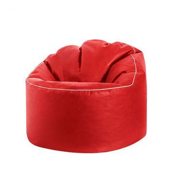 Red Sitting Point Tube Cosy Bean Bag Chair - nuatua-bean-bags