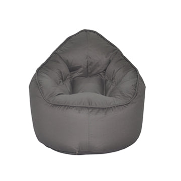 Grey Pod Bean Bag Chair - nuatua-bean-bags