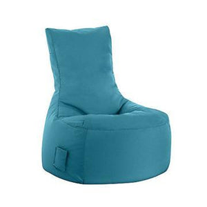 Turquoise Sitting Point Swing Brava Bean Bag Chair
