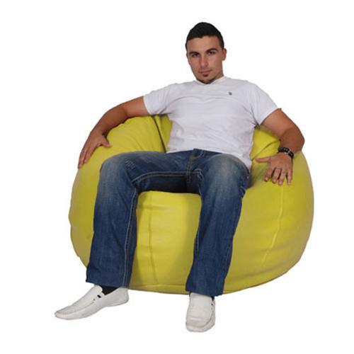 Yellow King Bean Bag - nuatua-bean-bags