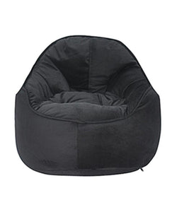 Mini Me Pod Bean Bag Chair Black - nuatua-bean-bags