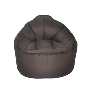 Brown Giant Pod Bean Bag Chair - nuatua-bean-bags