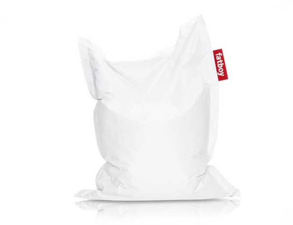 White Junior Fatboy - nuatua-bean-bags