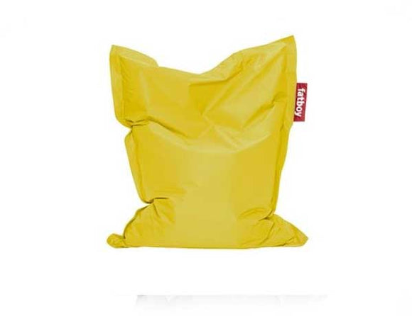 Yellow Junior Fatboy - nuatua-bean-bags